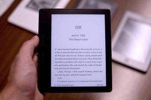 """kindle oasis 14 04 2016 300x200 - Kindle Oasis: e-reader da 6"""" con doppia batteria"""