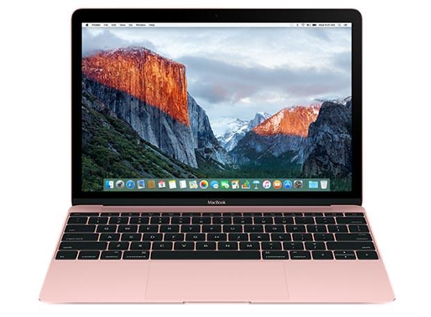 macbook 19 04 2016 - Apple MacBook: aggiornamento con nuove CPU e finitura oro rosa