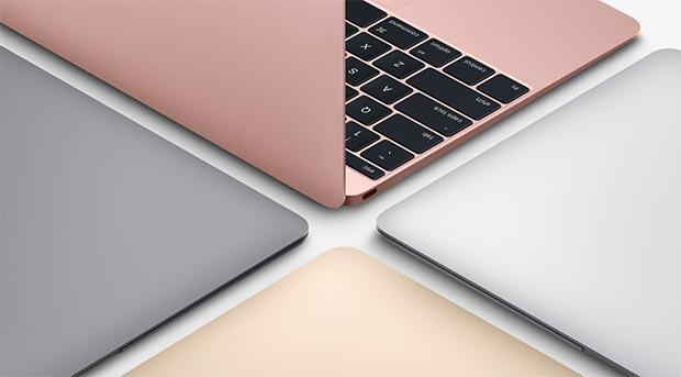 macbook 2 19 04 2016 - Apple MacBook: aggiornamento con nuove CPU e finitura oro rosa
