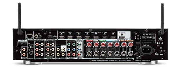 marantz nr1607 29 04 2016 - Marantz NR1607: sintoampli slim 7.2 con Dolby Atmos