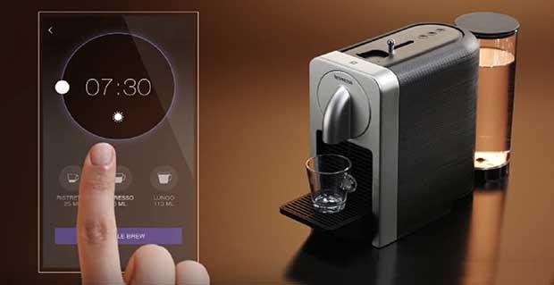 """nespresso prodigio 2 08 04 16 - Nespresso Prodigio: caffè e cappuccino diventano """"smart"""""""