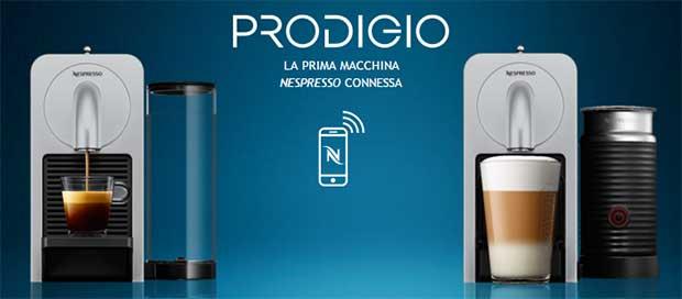 """nespresso prodigio 3 08 04 16 - Nespresso Prodigio: caffè e cappuccino diventano """"smart"""""""