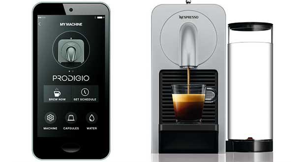 """nespresso prodigio evi 08 04 16 - Nespresso Prodigio: caffè e cappuccino diventano """"smart"""""""