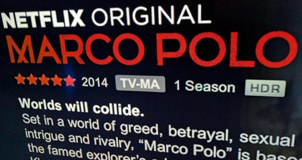 netflix hdr 11 04 2016 - Netflix: al via lo streaming in HDR con Marco Polo