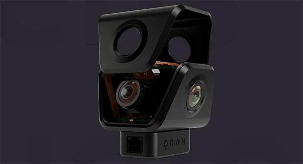 orah 4i 3 08 04 16 - Orah 4i: videocamera VR 4K per lo streaming Live a 360°