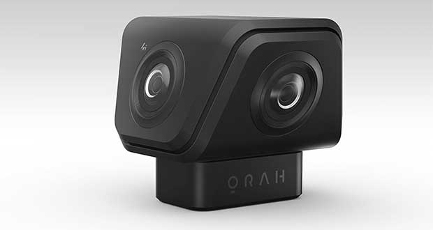 orah 4i evi 08 04 16 - Orah 4i: videocamera VR 4K per lo streaming Live a 360°