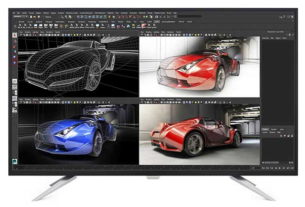 philips monitor4k 1 26 04 16 - Philips BDM4350UC: monitor 4K LCD IPS da 43 pollici