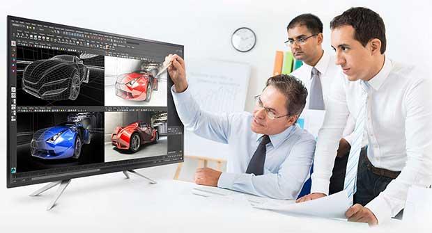 philips monitor4k 4 26 04 16 - Philips BDM4350UC: monitor 4K LCD IPS da 43 pollici
