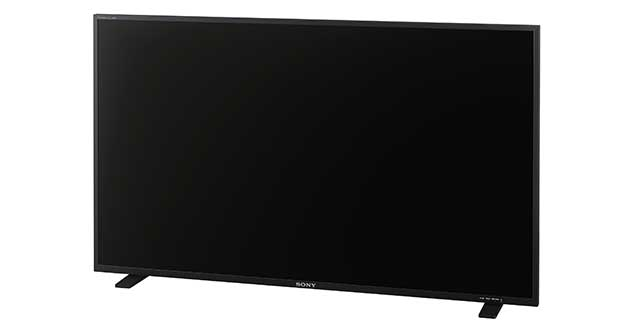 sony oled pvm x550 evi 18 04 16 - Sony PVM-X550: monitor OLED 4K HDR professionale da 55 pollici