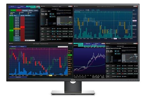 """dell P4317Q 24 05 2016 - Dell P4317Q: monitor LCD 43"""" IPS Ultra HD"""