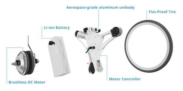 geoorbital wheel 3 03 05 16 - GeoOrbital Wheel: ruota elettrica per qualsiasi bici