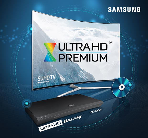 samsung ubdk8500 04 05 2016 - Samsung UBD-K8500: Ultra HD Blu-ray certificato Ultra HD Premium
