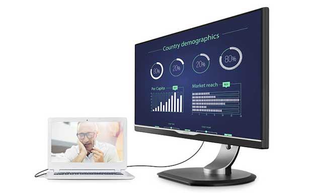 philips monitor usb c 1 07 06 16 - Philips 258B6QUEB: monitor PC Quad HD con USB Type-C