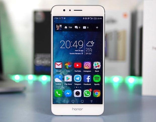 "honor 8 5 24 08 2016 - Honor 8: smartphone octa-core con display 5.2"" Full HD"