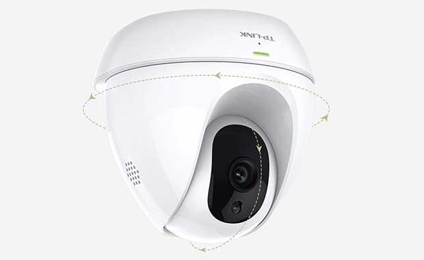 """tplink nc450 1 25 10 16 - TP-Link NC450: telecamera cloud HD """"giorno/notte"""""""