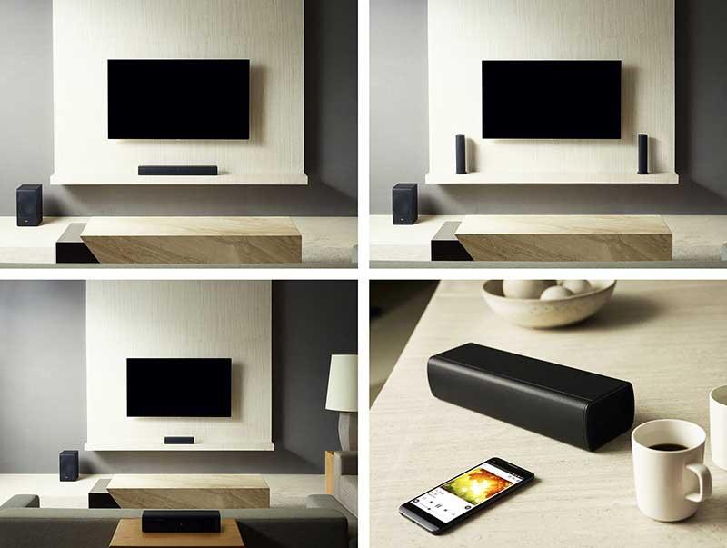 """lg sj7 2 04 01 17 - LG SJ9 e SJ7: soundbar Dolby Atmos e soundbar """"modulare"""""""