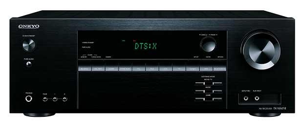 Onkyo TX NR474 1 22 02 17 - Onkyo TX-NR474: sinto-ampli 5.1 con Atmos e DTS:X