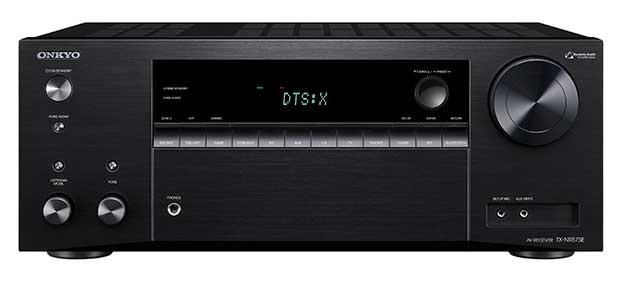 Onkyo TX NR575 1 22 02 17 - Onkyo TX-NR575E: sinto-ampli 7.2 con Atmos, DTS:X e Dolby Vision