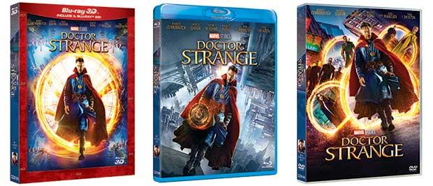 doctor strange 1 28 02 17 - Doctor Strange: dal 1 marzo in Blu-ray e 3D ma senza italiano lossless