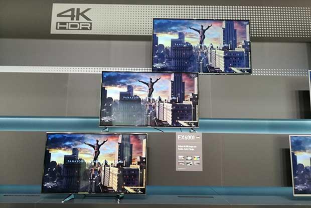 panasonic lcd4k2017 3 22 02 17 - Panasonic EX780 / 700 / 600: TV LCD Ultra HD con HDR e HLG