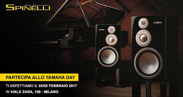 yamahaday spinelli 22 02 17 - Diffusori Yamaha NS-5000 da Spinelli Hi-Fi