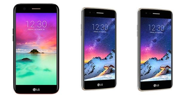 LG serie k 14 03 17 - LG K10, K8 e K4 2017: nuovi smartphone disponibili in Italia