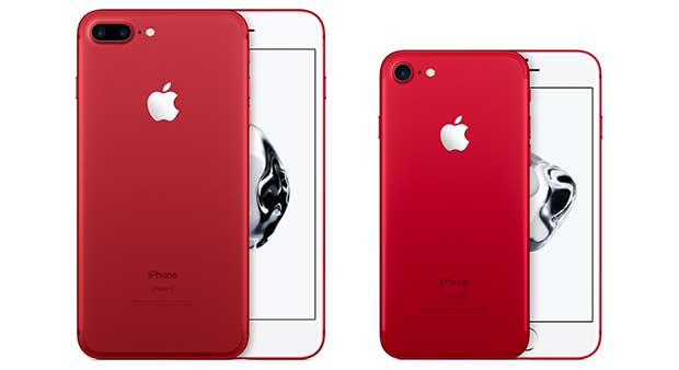 iphone7 red 1 21 03 17 - iPhone 7 e 7 Plus RED Special Edition contro l'AIDS