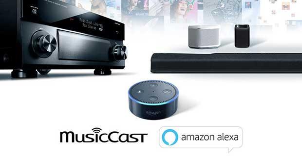 musiccast alexa 02 03 17 - Yamaha MusicCast: controlli vocali Amazon Alexa in arrivo