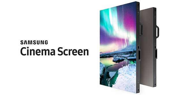 samsung cinema screen evi 28 03 17 - Samsung Cinema Screen: LED Wall 4K e HDR per il cinema