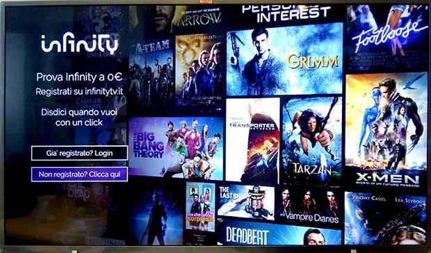 philips androidtv infinity 1 13 04 17 - Philips: app di Infinity disponibile su tutti gli Anroid TV