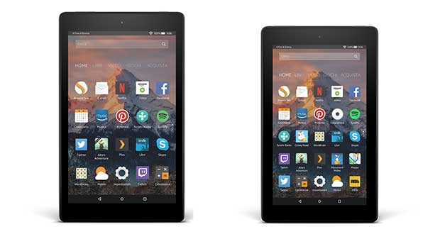 amazon fire evi 17 05 17 - Fire 7 e Fire 8 HD: i nuovi tablet economici di Amazon