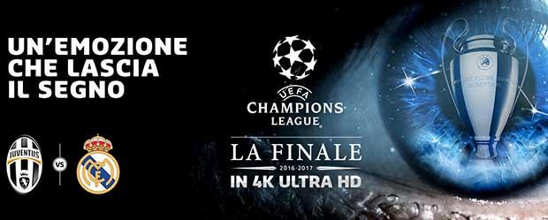 finale 2017 4k 1 01 06 17 - Finale Champions League in 4K su Mediaset Premium
