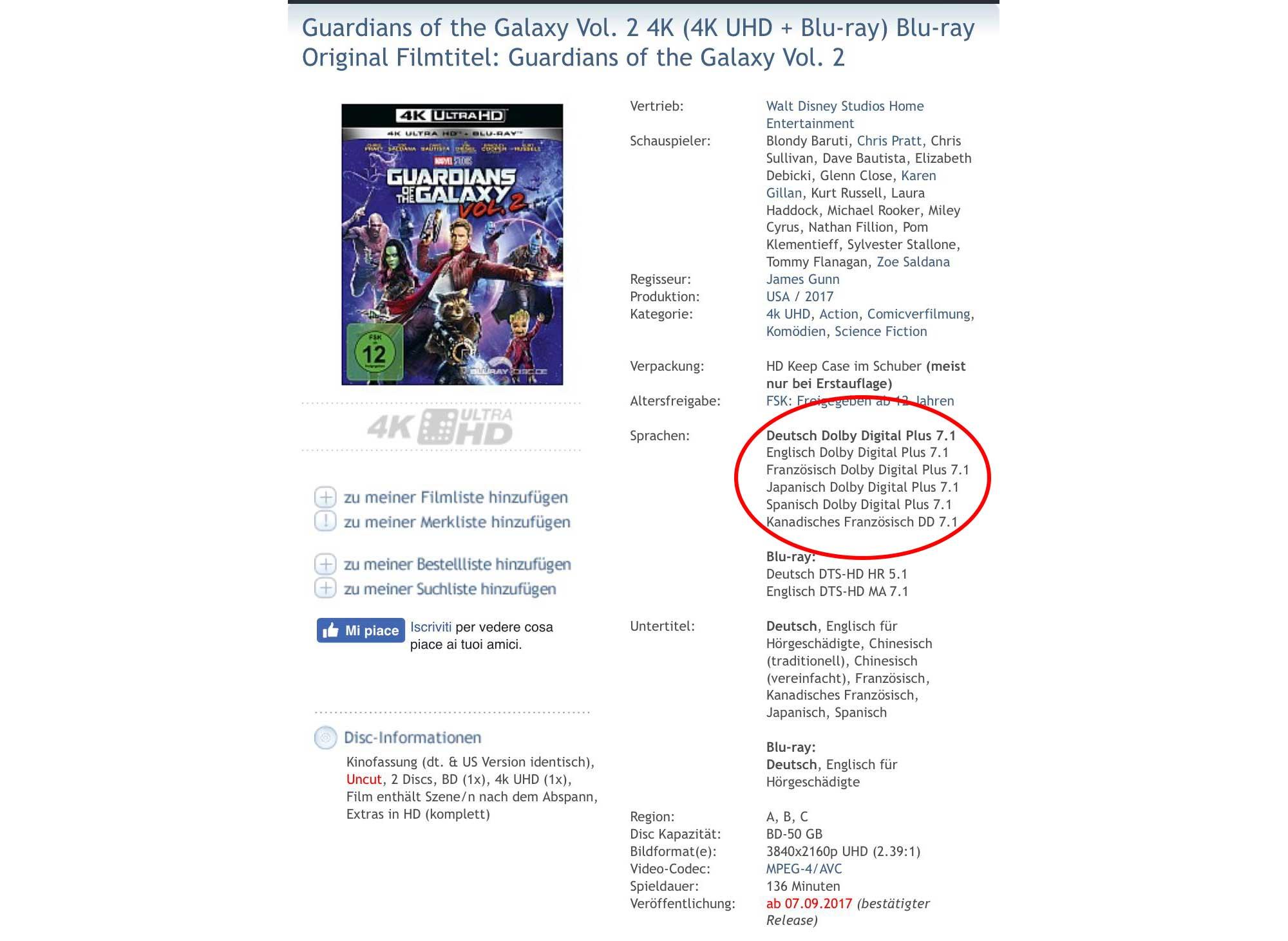 disney4k 1 18 07 17 - Disney e le stranezze dei Blu-ray 4K (che non arrivano in Italia)
