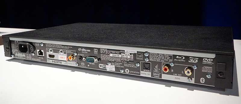 """sony x1000es 1 19 07 17 - Sony UBP-X1000ES: Ultra HD Blu-ray """"universale"""" top di gamma"""