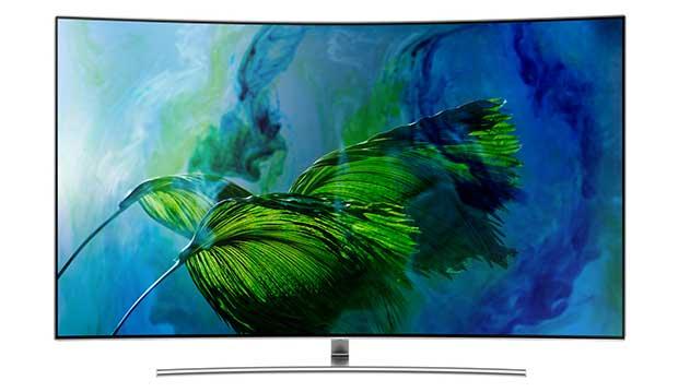 samsung q8c art 1 - TV QLED HDR Curvo Samsung QE55Q8C - La prova