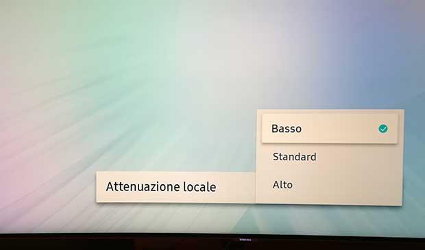 samsung q8c art 11 - TV QLED HDR Curvo Samsung QE55Q8C - La prova