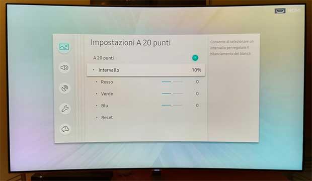 samsung q8c art 12 - TV QLED HDR Curvo Samsung QE55Q8C - La prova
