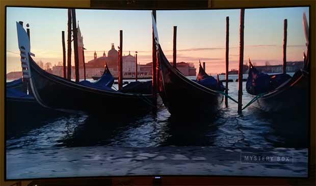 samsung q8c art 15 - TV QLED HDR Curvo Samsung QE55Q8C - La prova