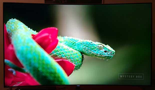 samsung q8c art 16 - TV QLED HDR Curvo Samsung QE55Q8C - La prova