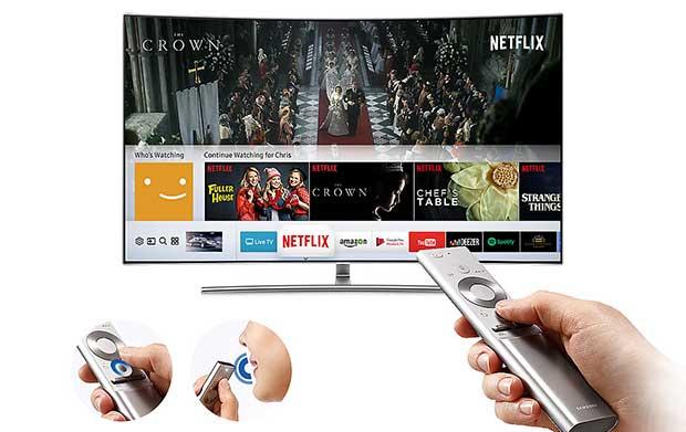 samsung q8c art 9 - TV QLED HDR Curvo Samsung QE55Q8C - La prova