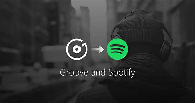 groovemusic spotify evi 03 10 17 - Microsoft: addio Groove Music, benvenuto Spotify
