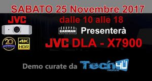 garman jvc nov17 evi 300x160 - Presentazione JVC X7900 4K HDR a Roma il 25 novembre