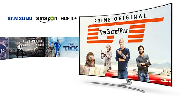 Amazon HDR10 - Samsung HDR10+: No sui TV 2016, probabile sui TV 2017 anche via HDMI
