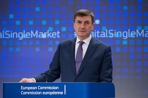 Ansip - Europa: confermato il geoblocking sullo streaming audio e video
