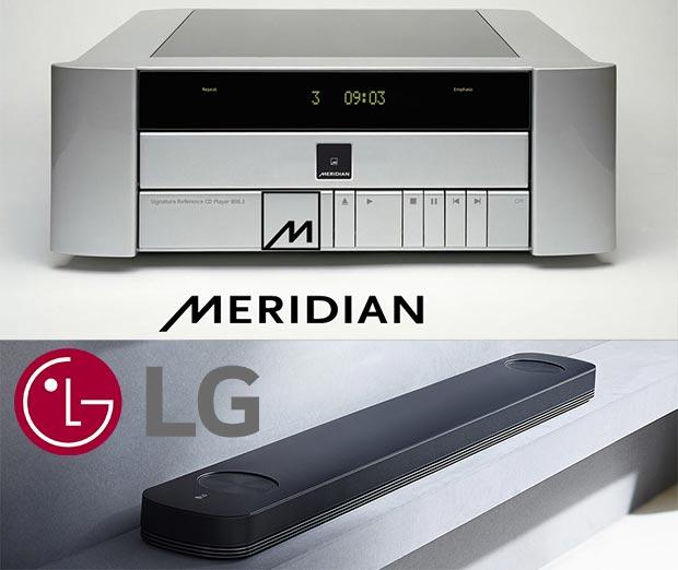 LG Meridian 2 - LG e Meridian insieme per nuove soluzioni audio