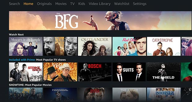 Prime Video Android TV - Amazon Prime Video in arrivo su tutte le Android TV