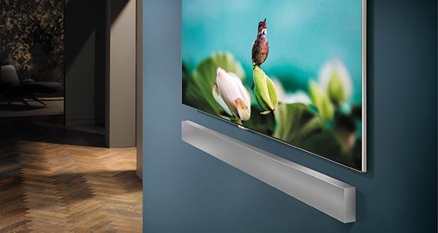 Samsung NW700 - Samsung NW700: soundbar sottile con subwoofer integrato