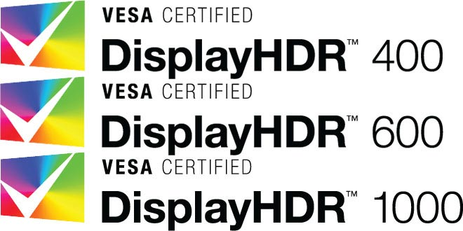 displayhdr - DisplayHDR: 3 livelli per certificare i monitor PC