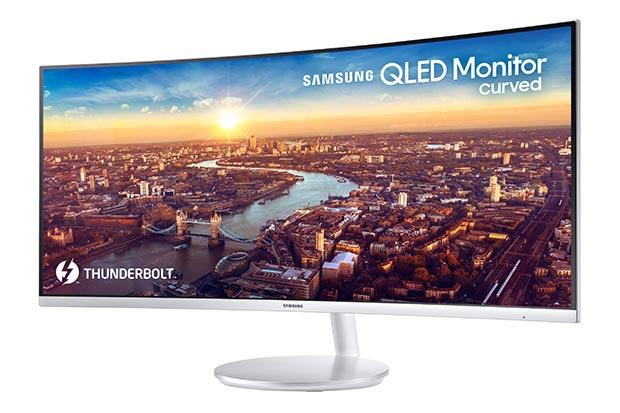 Samsung CJ791 - Samsung CJ791 : primo monitor QLED con Thunderbolt 3