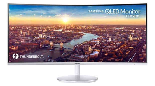 Samsung CJ791 3 - Samsung CJ791 : primo monitor QLED con Thunderbolt 3
